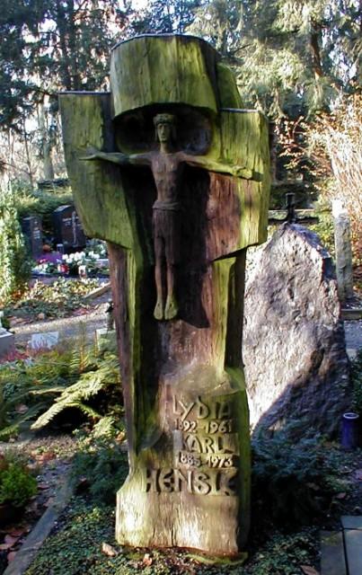 Holzgrabmal von Berthold Rumold